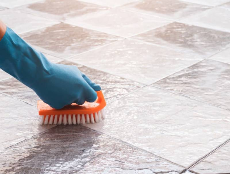 How to Clean Dirty Kitchen Floor Tiles